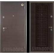 Металлическая дверь БУЛЬДОРС-12С Венге