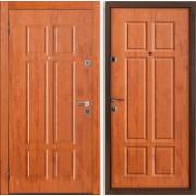Металлическая дверь БУЛЬДОРС-15 Золотой дуб