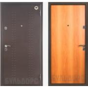 Металлическая дверь БУЛЬДОРС-23 Миланский орех