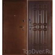 Металлическая дверь Дельта Венге