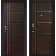 Металлическая дверь Кондор Хром