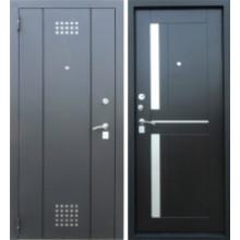 Металлическая дверь Техно 2 Соренто Венге