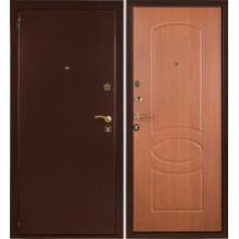 Металлическая дверь Триумф Миланский орех