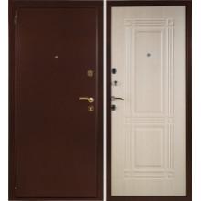 Металлическая дверь Триумф Беленый дуб