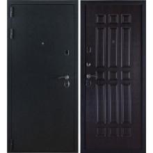 Металлическая дверь 3К Лайт Черный Бархат - Венге