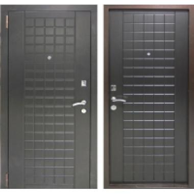 Металлическая дверь Бюджет Шоколад Венге