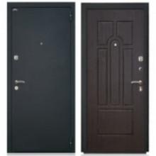Металлическая дверь Аттика Венге