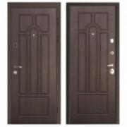 Металлическая дверь Афина ЧИЗА Венге