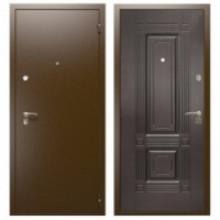 Металлическая дверь Оптима 2 Венге