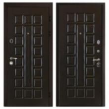 Металлическая дверь Сенатор Венге