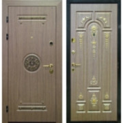 Металлическая дверь Клеопатра Венге