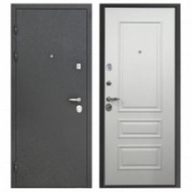 Металлическая дверь Персей 3D-Амадея Белый ясень