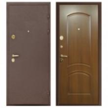 Металлическая дверь Сириус 3D-Амадея Итальянский орех