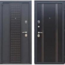 Металлическая дверь Персона Модерн венге