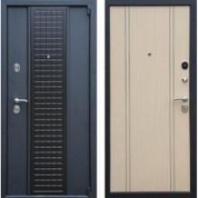 Металлическая дверь Персона Модерн светлый венге