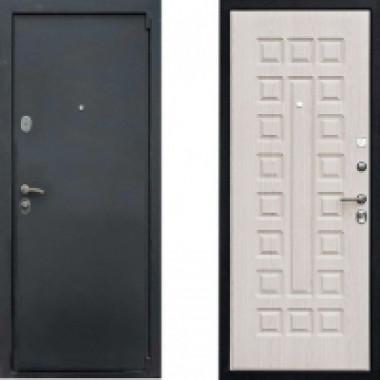 Металлическая дверь Ратибор Зодиак Беленый Дуб