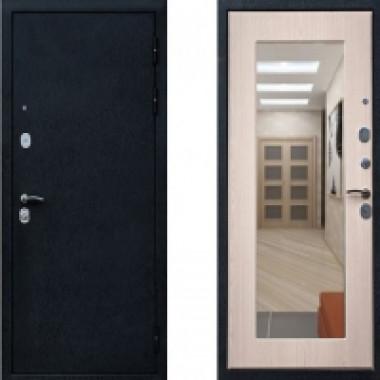 Металлическая дверь Ратибор Милан c зеркалом