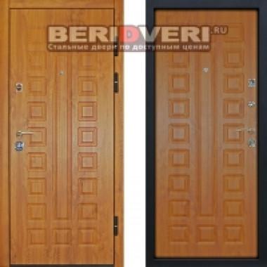 Металлическая дверь Геркон Сенатор Дуб Винорит