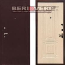 Металлическая дверь REX 1 Беленый дуб