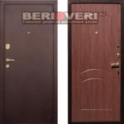Металлическая дверь REX 1A Антик Орех