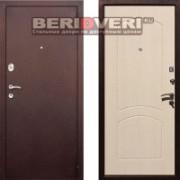 Металлическая дверь REX 1A Антик Беленый дуб