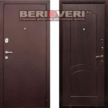 Металлическая дверь REX 1A Антик Венге