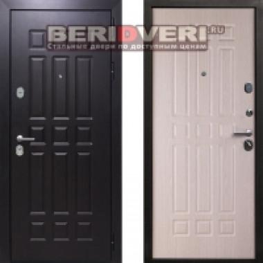 Металлическая дверь REX Стандарт 16 Беленый дуб
