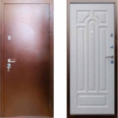 Металлическая дверь Art-Lock 6A Беленый Дуб