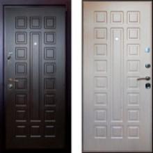 Металлическая дверь Art-Lock 4G 16 Беленый дуб