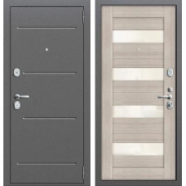Металлическая дверь Groff T2-223 Капучино
