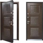 Металлическая дверь Mastino line 3 Венге