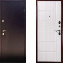 Металлическая дверь Дива С-503 Беленая лиственница с шумоизоляцией