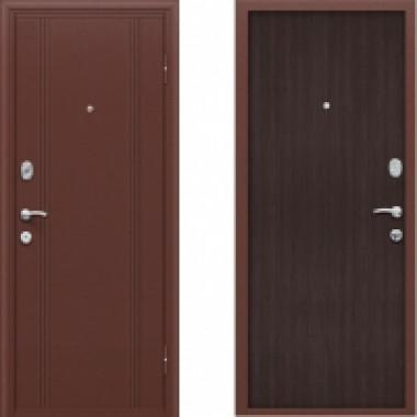 Металлическая дверь Оптим DoorOut 201 Венге