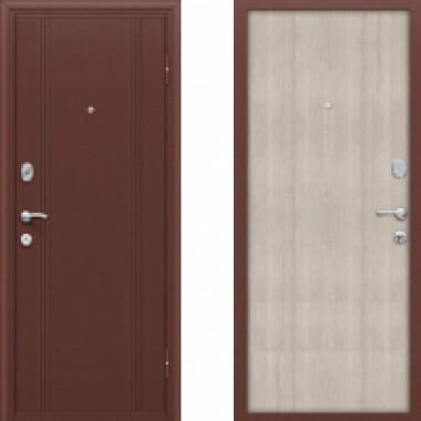 Металлическая дверь Оптим DoorOut 201 Капучино
