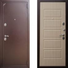 Металлическая дверь ЕВРО 2/Б2 (f041) Белый Венге