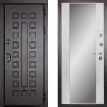 Металлическая дверь Дива МД-30 с зеркалом