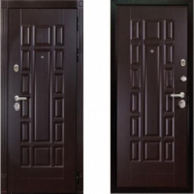 Металлическая дверь Дива МД-35 Венге