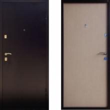 Металлическая дверь Промет BMD-2 Беленый дуб