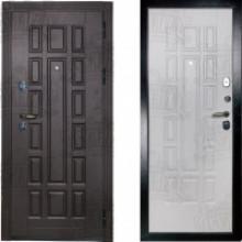 Металлическая дверь Дива МД-35 Беленый дуб