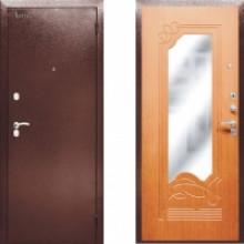Металлическая входная дверь Аргус ДА-13 с зеркалом