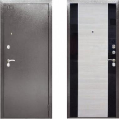 Металлическая дверь Аргус ДА-19 с молдингами