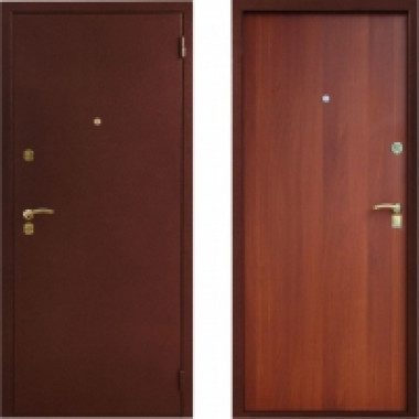 Металлическая дверь Престиж Стандартная Итальянский Орех