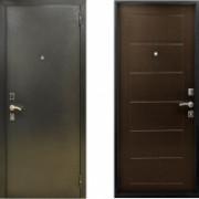 Металлическая дверь СТОП Сити Венге