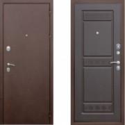 Металлическая дверь СТОП Троя Венге