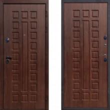 Металлическая дверь ЮГ Крит Орех Кьяро