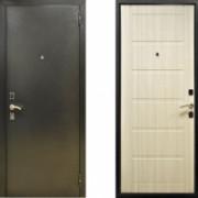 Металлическая дверь СТОП Сити Беленый дуб