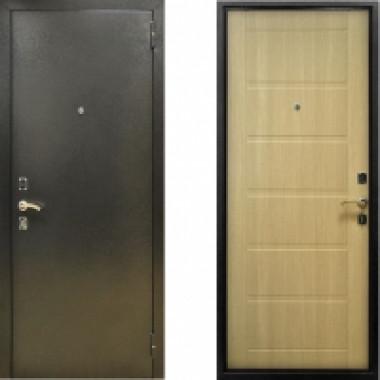 Металлическая дверь СТОП Сити Капучино