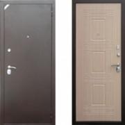 Металлическая дверь Комфорт 2/Б1 (f044) Белый Венге