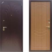 Металлическая дверь Комфорт 2/Б1 (f022) Золотистый Дуб