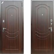 Металлическая дверь Комфорт 3/Б1 (f022) орех тёмный